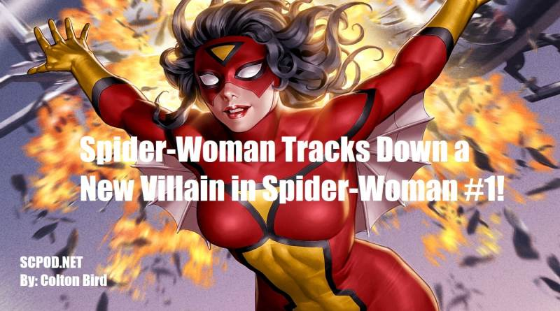 Spider-Woman Tracks Down a New Villain in Spider-Woman #1!