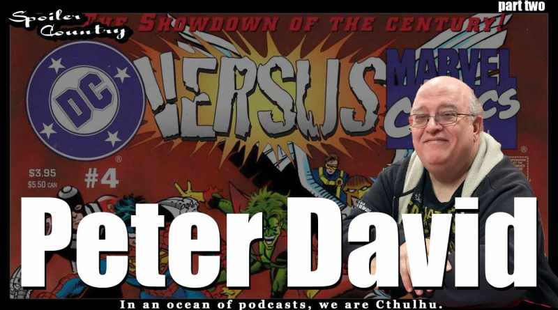 Peter David – Spider-Man 2099, Captain America 2099, and more!
