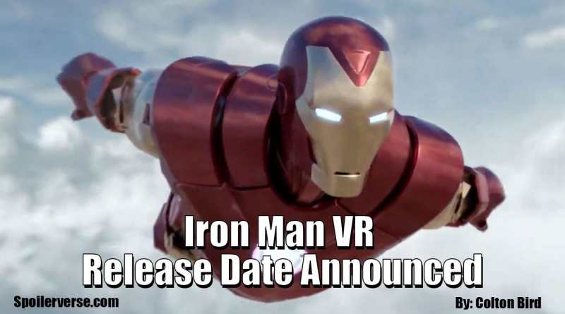 Iron Man VR Release Date Announced