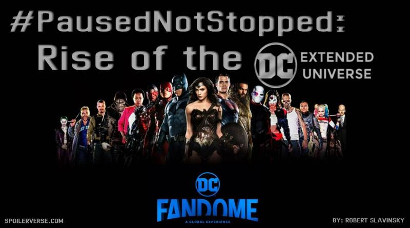 #PausedNotStopped: Rise of the DCEU