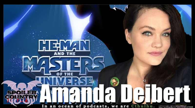 Amanda Deibert – He-Man! DC Super-Hero Girls! Teen Titans Go!