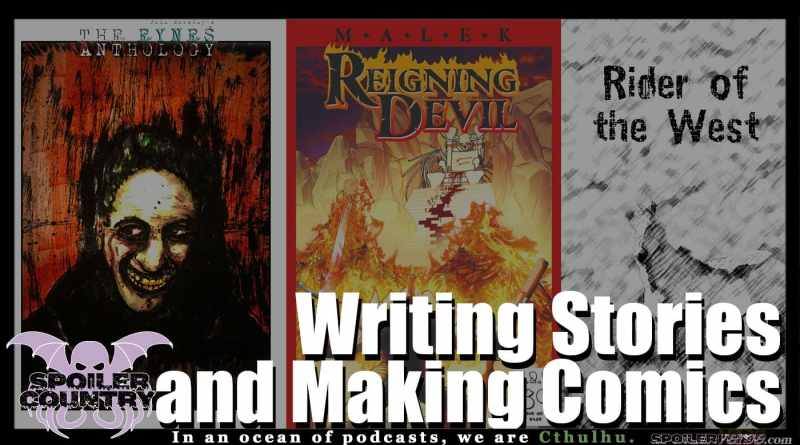 Writing Stories and Making Comics