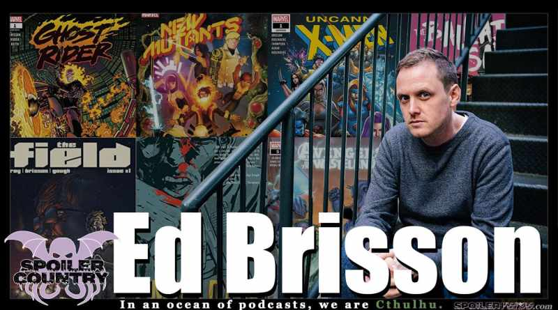 Ed Brisson – Ghost Rider! New Mutants! Murder Book!