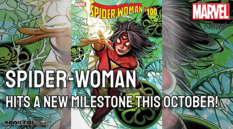 Spider-Woman Hits a New Milestone This October!