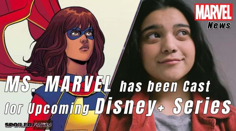 MS. MARVEL has been Cast for Upcoming Disney+ Series