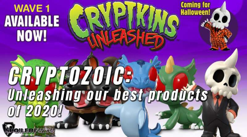 Cryptozoic: Unleashing our best products of 2020!