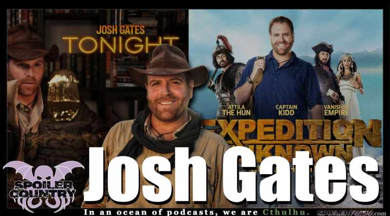 Josh Gates talks Tonight and Expedition Unknown!