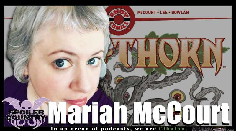 Mariah McCourt – Writer of Ash and Thorn from Ahoy Comics!