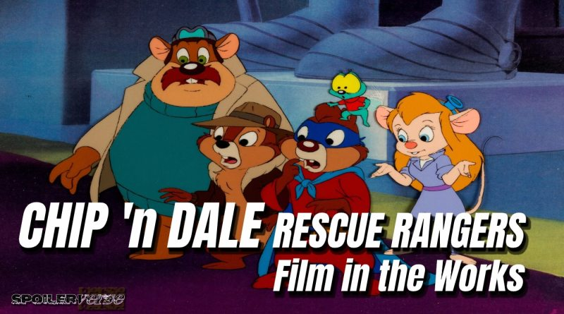 CHIP 'n DALE RESCUE RANGERS Film in the Works