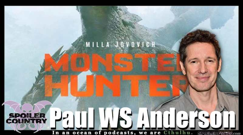 Paul WS Anderson talks Monster Hunter and more!