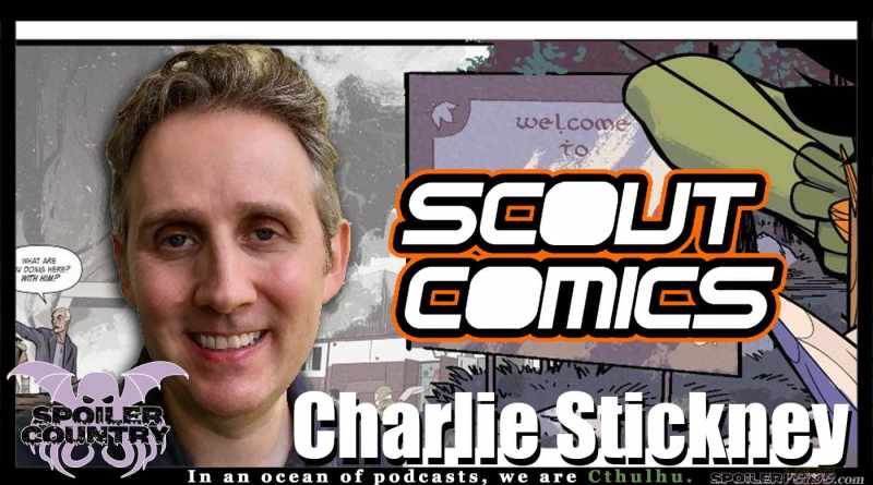 Charlie Stickney – Co-Publisher of Scout Comics!