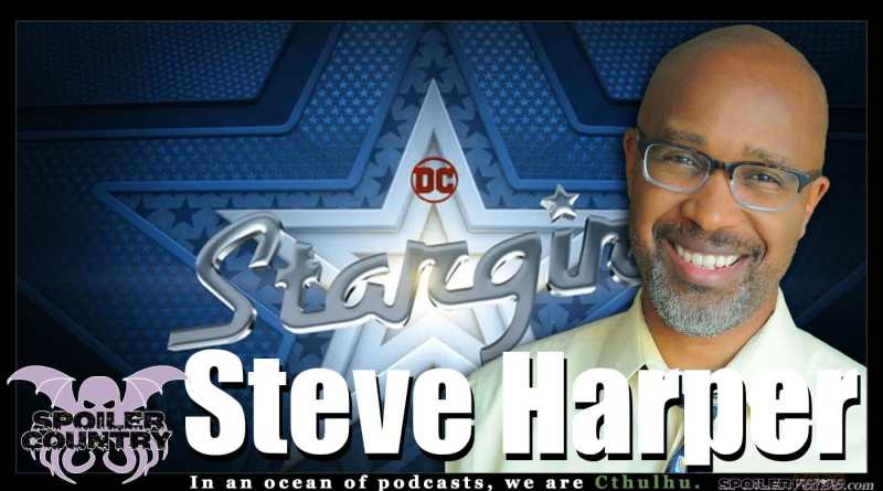 Steve Harper – Writer! Playwright! Actor! DC's Stargirl!