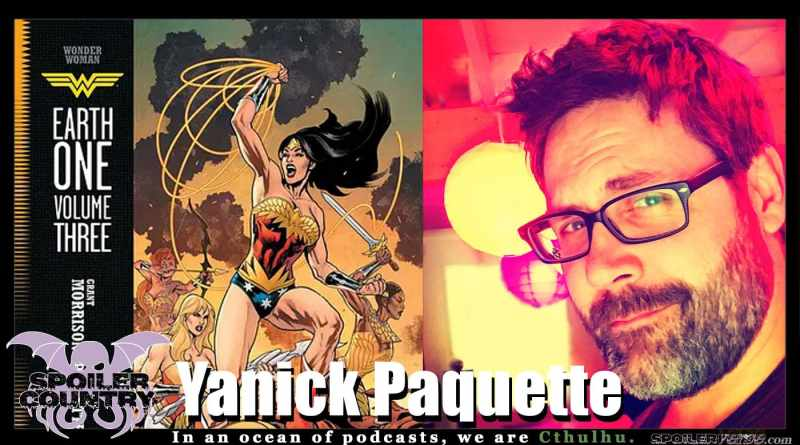 Yanick Paquette – Wonder Woman Earth One Volume Three!