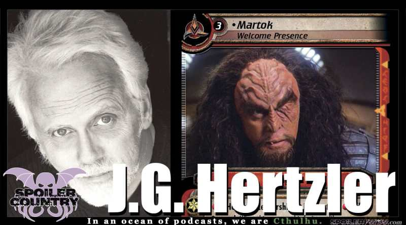 J.G. Hertzler – Martok form Star Trek DS9!