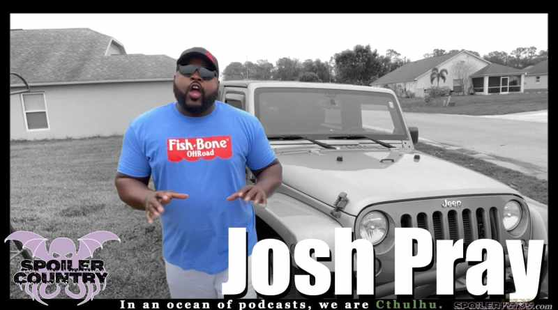 Comedian Josh Pray stops by for a chat!
