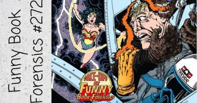 Funny Book Forensics 271 Wonder Woman at the Library