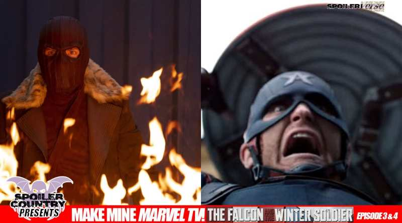 Make Mine Marvel TV: Falcon and the Winter Soldier Episode 03 and 04 Reaction