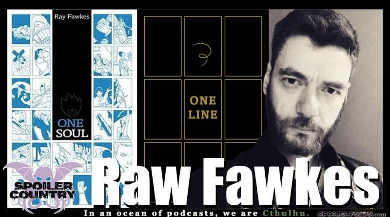 Ray Fawkes talks One Soul and One Line from Oni Press!