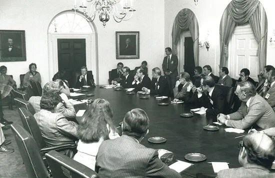 1980 News Conference with President Jimmy Carter.