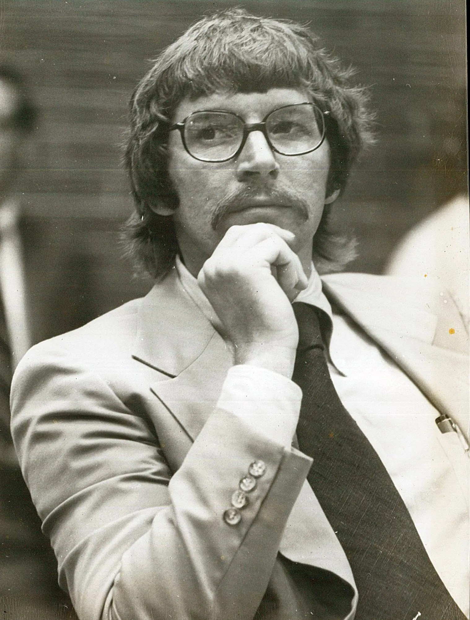 Jay Bender in his law school days. (Picture from Osceola)