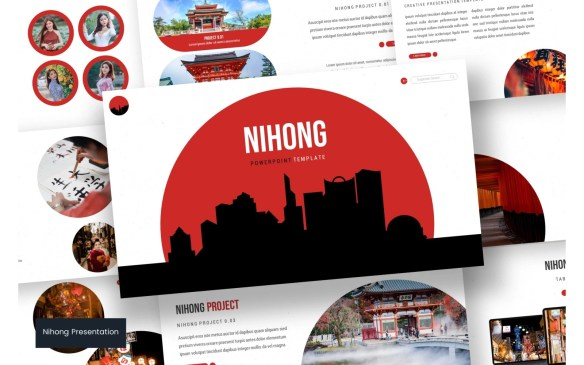 Nihong PowerPoint Templates