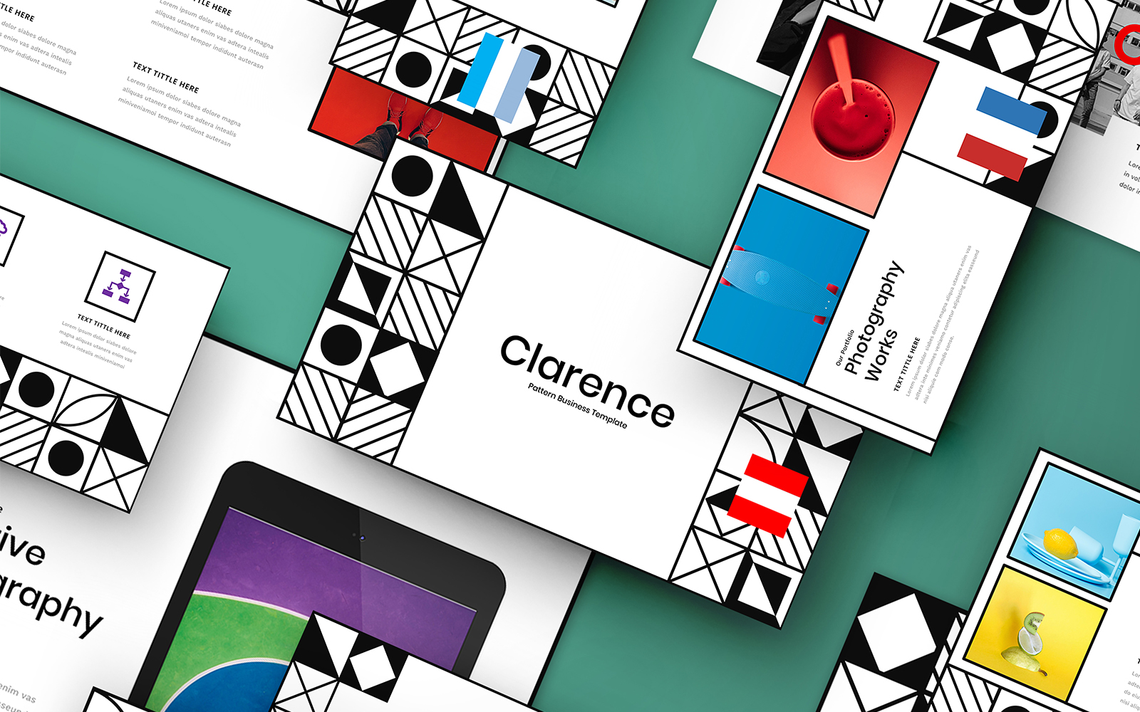 Clarence - Creative PowerPoint Template
