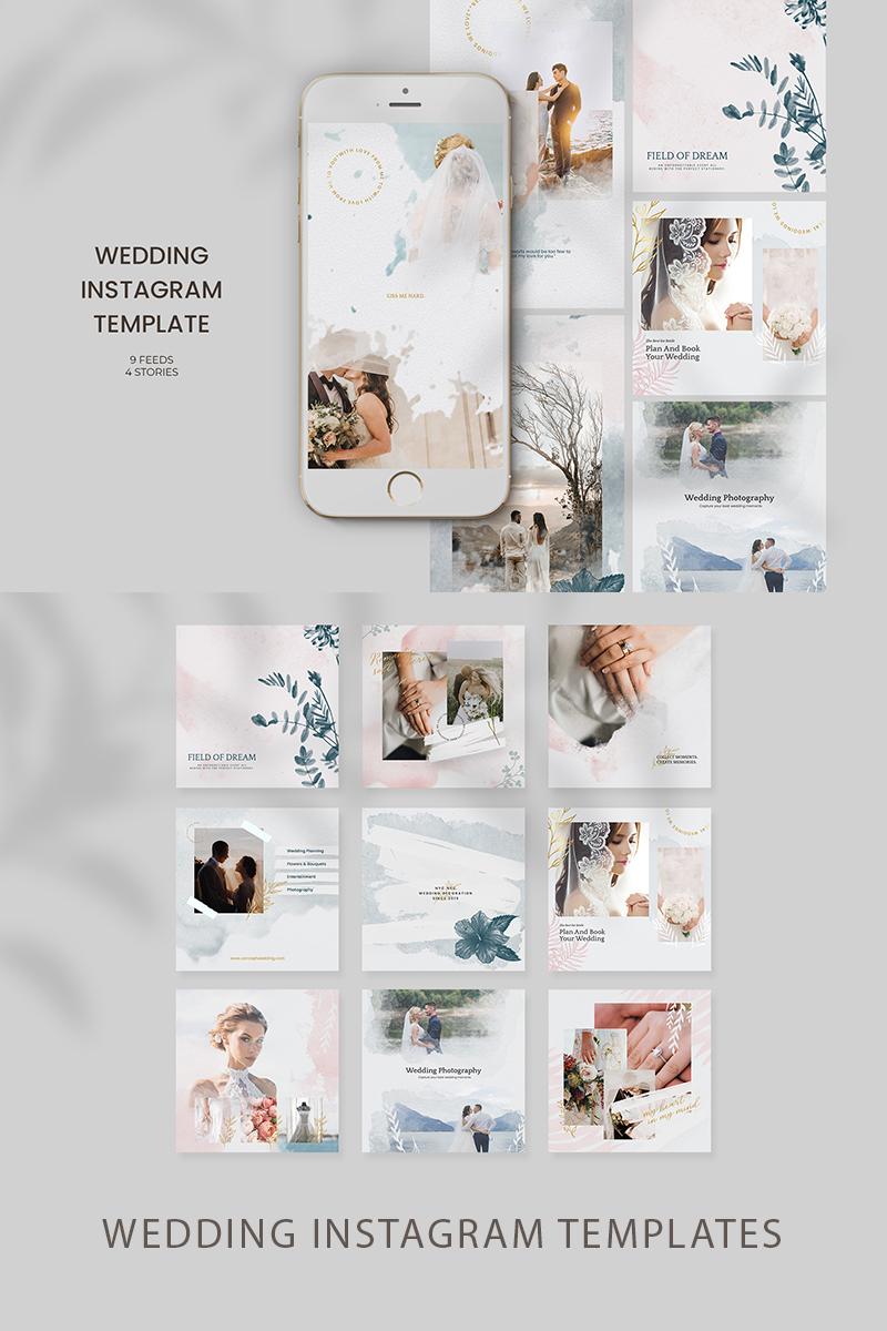 Gorgeous Wedding Instagram Templates