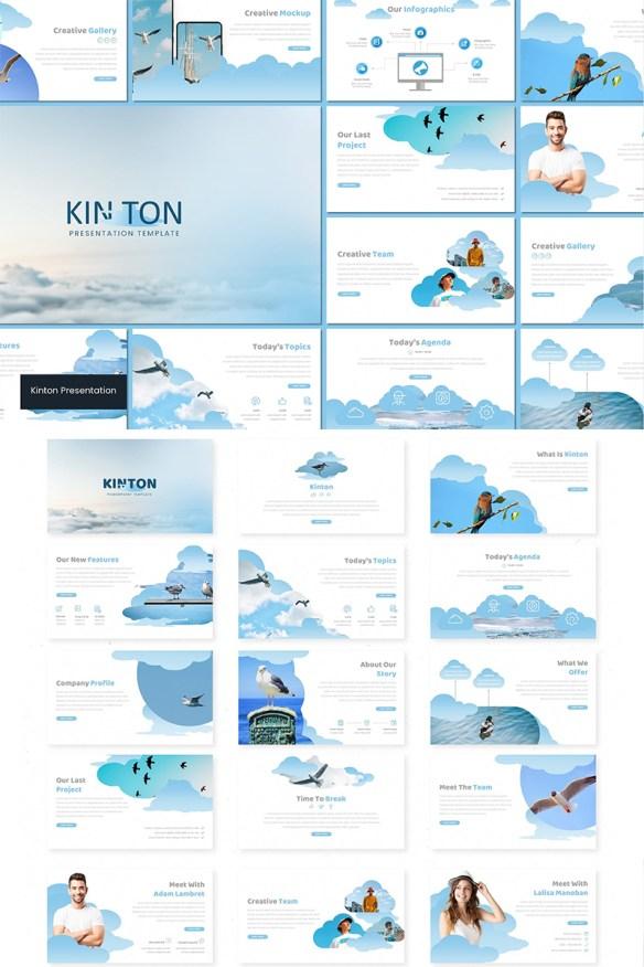 Kinton Keynote Template