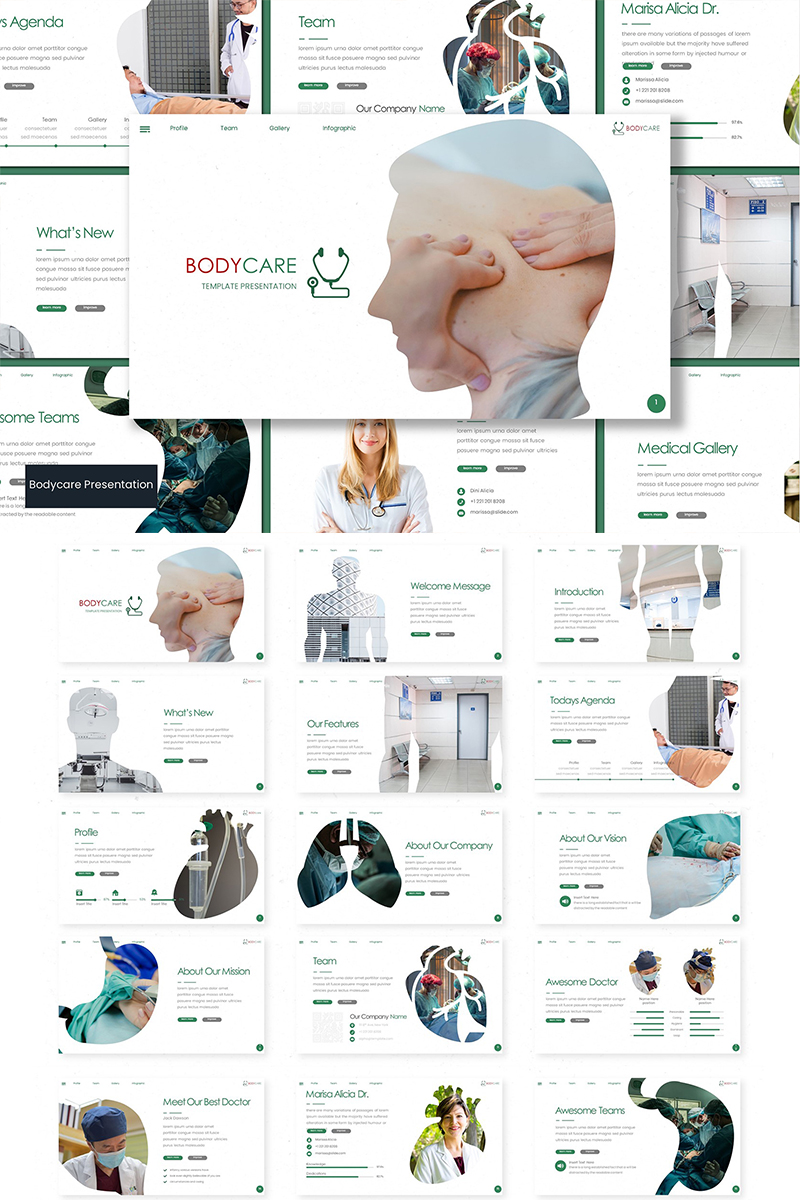 Bodycare PowerPoint Template