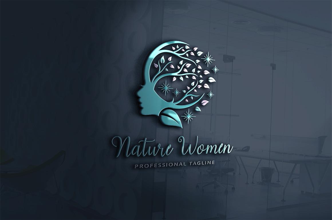 Nature Women Logo Template