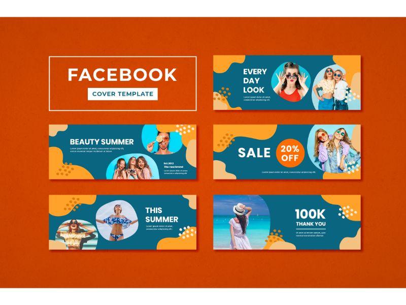 Facebook Cover Beauty Summer Social Media