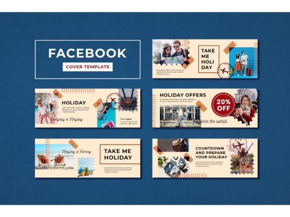 Facebook Cover Holiday Offers Social Media