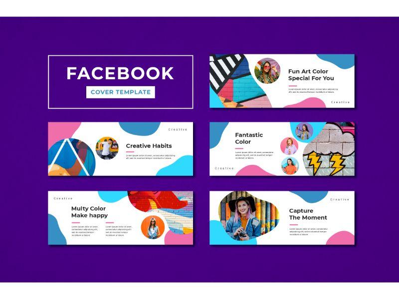 Facebook Cover Creative Social Media Template