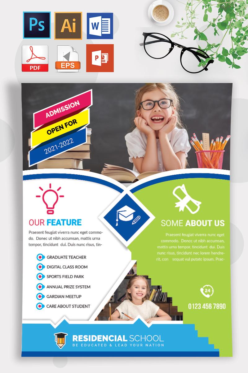 School Flyer Vol-09 Template