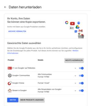 New look on Google+