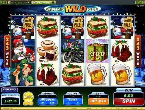 SCR888 Login Casino Santa's Wild Ride Slot Machine!1