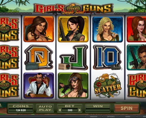 SCR888 Casino Tips Download Slot Game Girls with Guns Features :