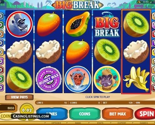 SCR888 Tips : Big Break Slot Game