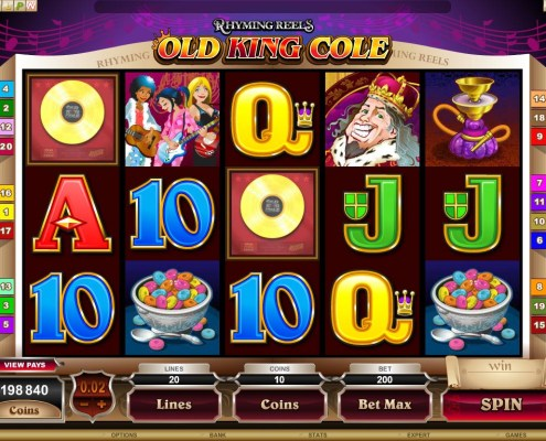 SCR888 Tips :Old King Cole Slot Game