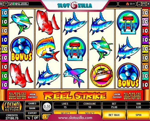 SCR888 Tips:Reel Strike Slot Game