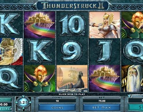 SCR888 Tips : Thunderstruck II Slot Game