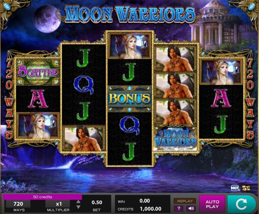 Login SCR888 Casino Moon Warrior Online Slot Game