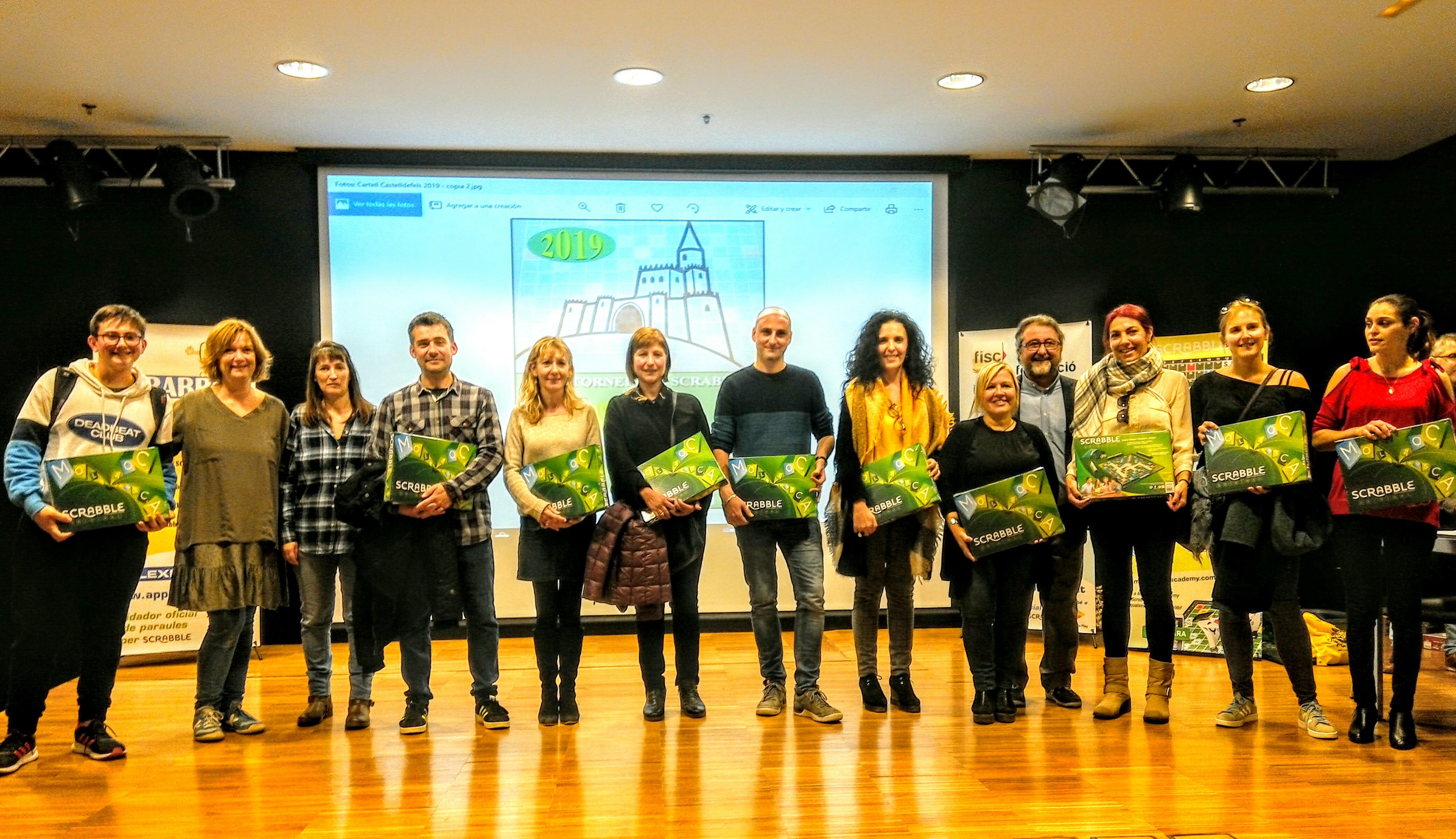 XXIV Campionat de Scrabble Escolar en Catala de Castelldefels 2019 Crònica i classificacions.