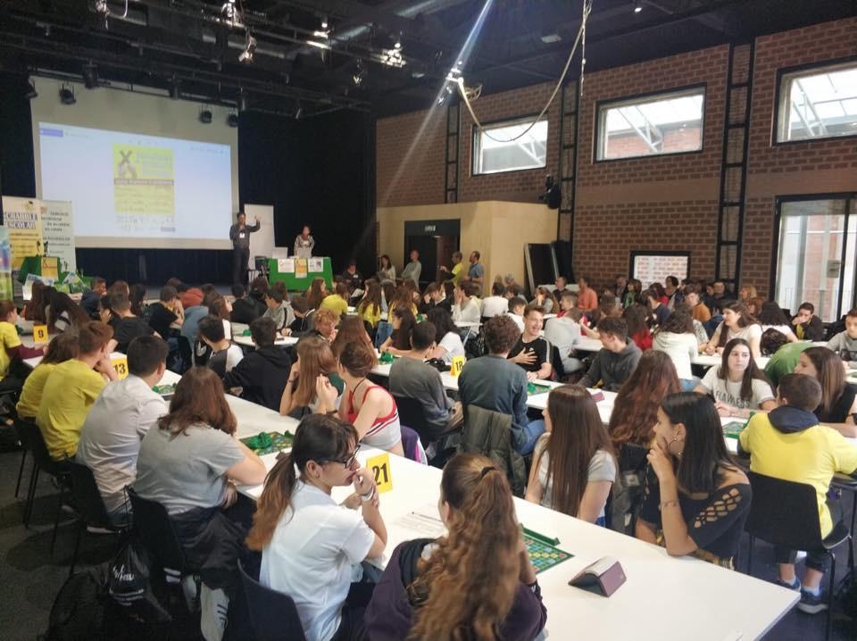 Barcelona, GRAN FINAL  X Campionat de 3r-4t d'ESO de Scrabble Escolar dels Països Catalans 2019