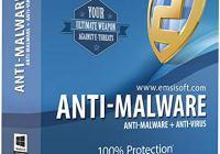Emsisoft Anti-Malware 2020.4.1.10107 Crack License Key Free Download (Mac/Win)