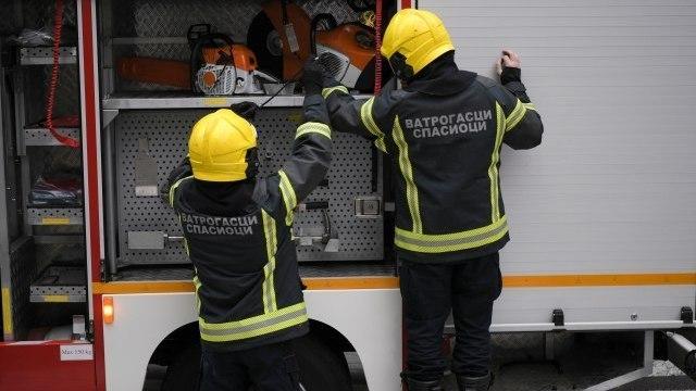 Požar na Lionu; Vatra zahvatila potkrovlje zgrade