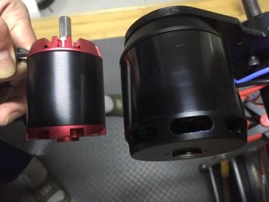 63 mm motor VS 50 mm motor