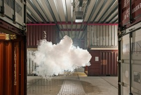 Nimbus NP3 (2012) Cloud In Room by Berndnaut Smilde