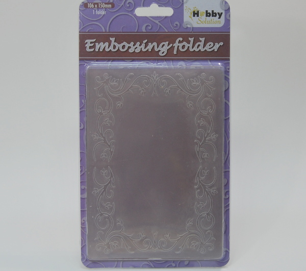 Carpeta embossing Rectangle Frame 1 XCut scrapbooking,cardmaking