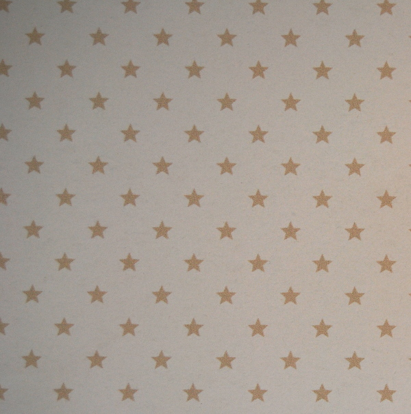 Papel scrap estrellas beige Papers for You cardmaking,scrapbook,manualidades